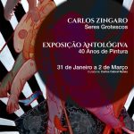 "Carlos ""Zíngaro"" Seres Grotescos exhibition catalogue"