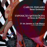 "Carlos ""Zíngaro"" Seres Grotescos exhibition catalogue"
