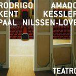 "Rodrigo Amado + Kent Kessler + Paal Nilssen-Love ""Teatro"" CD sleeve"