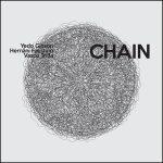 "Yedo Gibson + Hernâni Faustino + Vasco Trilla ""Chain"" CD sleeve"