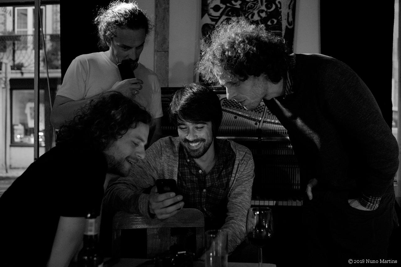 Luís Vicente, Kristján Martinsson, Marcelo Dos Reis & Onno Govaert
