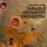"Variable Geometry Orchestra ""Ma' adim Vallis"" CD sleeve design by Carlos Santos"