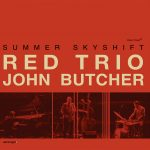 "Red Trio & John Butcher ""Summer Skyshift"" CD sleeve"
