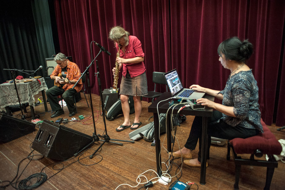 Fred Frith, Lotte Anker & Ikue Mori