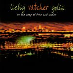 """Steuart Liebig + Michael Vatcher + Vinny Golia """"On The Cusp Of Fire And Water"""" CD sleeve"""